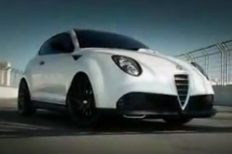 Alfa Romeo Mito GTA in de ijskast