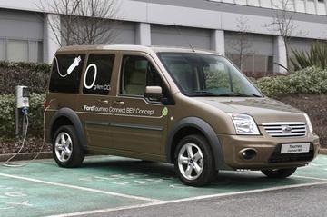 Vernieuwde Ford Tourneo Connect ook elektrisch