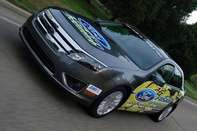 Ford Fusion Hybrid zet zuinigheidsrecord