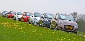 Suzuki Alto / Citroën C1 / Renault Twingo / Daihatsu Cuore / Ford Ka / Hyundai i