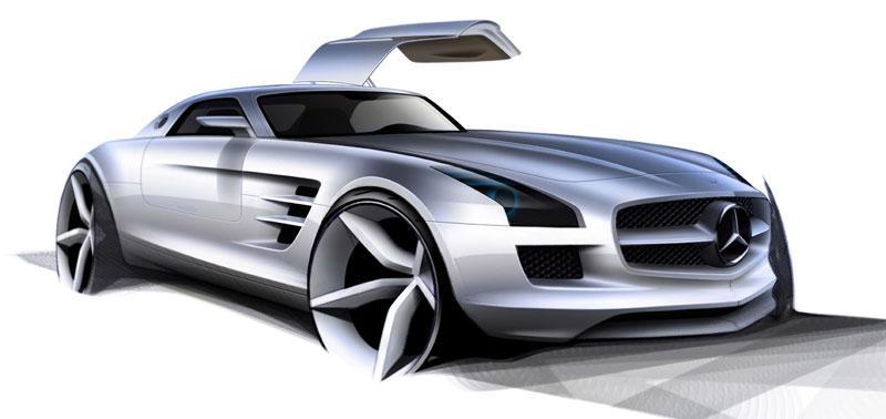 Ook elektrische versie Mercedes SLS AMG