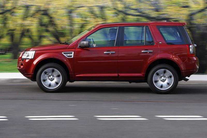 Land Rover Freelander met stop/start-systeem