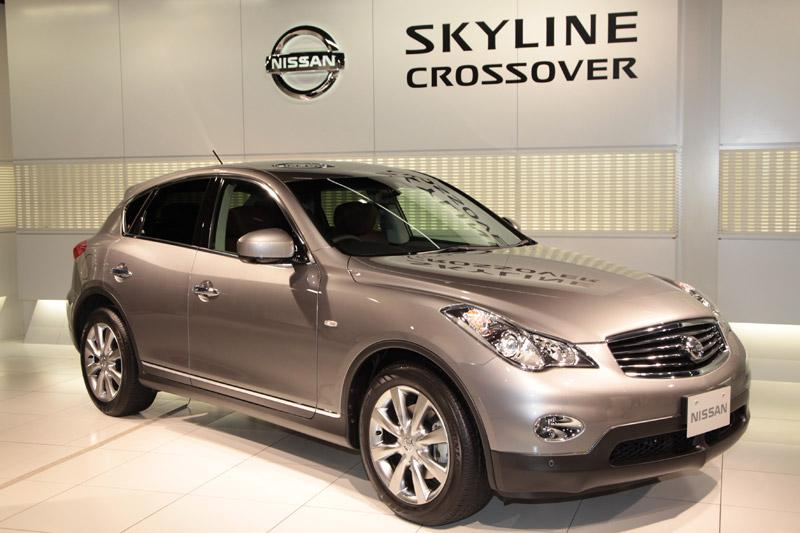Japanners krijgen Nissan Skyline Crossover