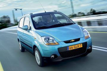 Chevrolet Matiz schuift zichzelf in de koopjeshoek