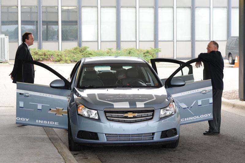 Chevrolet Volt vermomd als Cruze