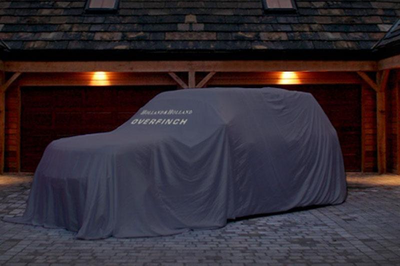 Bloedmooie Range Rover in de maak