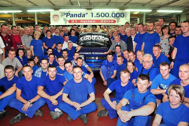 Fiat produceert anderhalfmiljoenste Panda