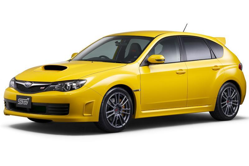 Subaru Impreza WRX STI met extra peper