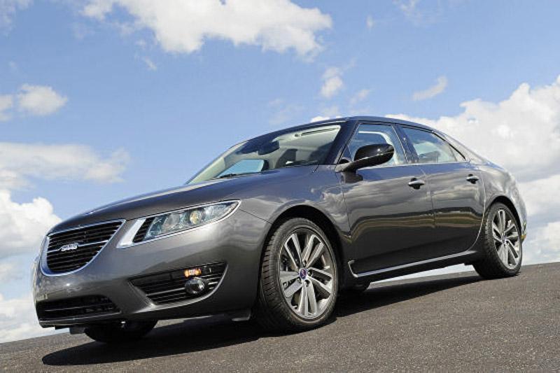 *Update* Ja, het is 'm echt: Saab 9-5!