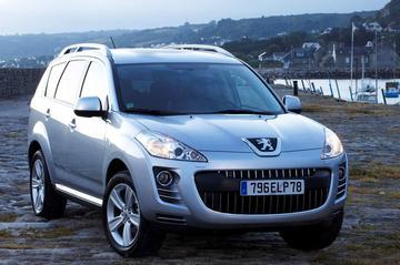 Dubbele koppeling voor Peugeot 4007