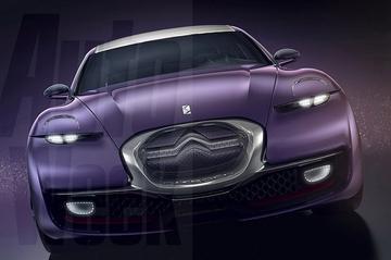 Citroën Revolte concept open en bloot