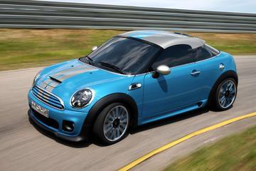 Mini Coupé Concept voorbode nog sportievere Mini