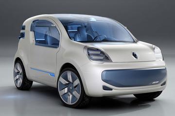 Voor de postbode: Renault Kangoo Z.E.