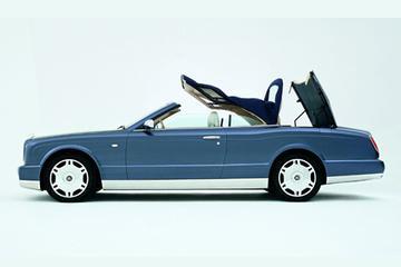 Bentley Arnage cabrio in productie