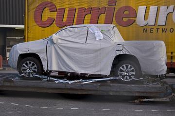 Gesnapt: Volkswagen Amarok op Schiphol
