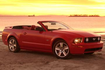 Topless Ford Mustang onthuld