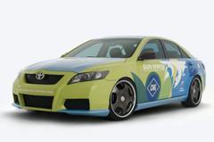 Toyota voert aardgashybride Camry op