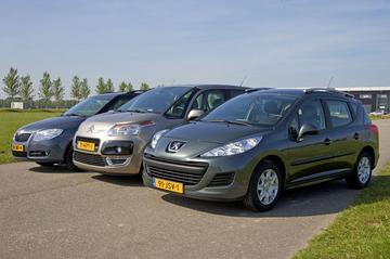 Skoda Fabia Combi - Citroën C3 Picasso - Peugeot 207 SW