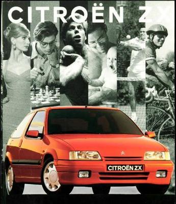 Brochure Citroën ZX 1993
