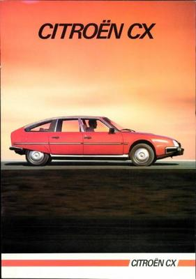 Brochure Citroën CX 1984