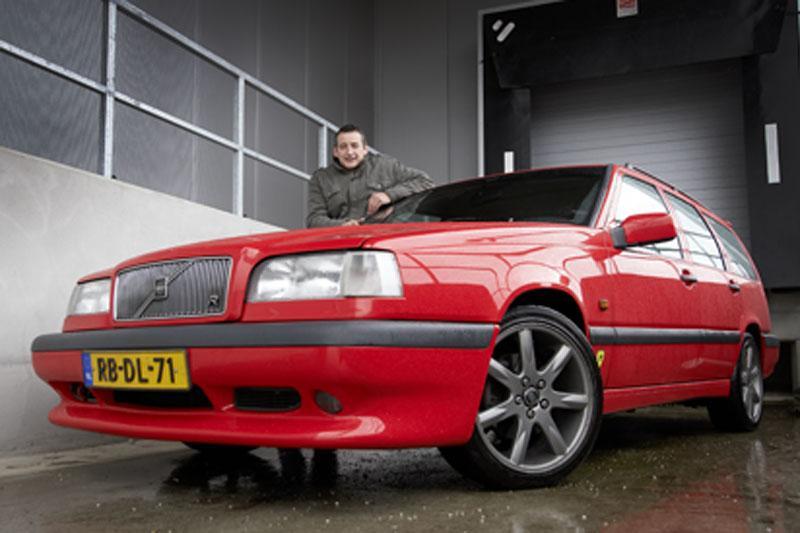 Klokje rond Volvo 850 R
