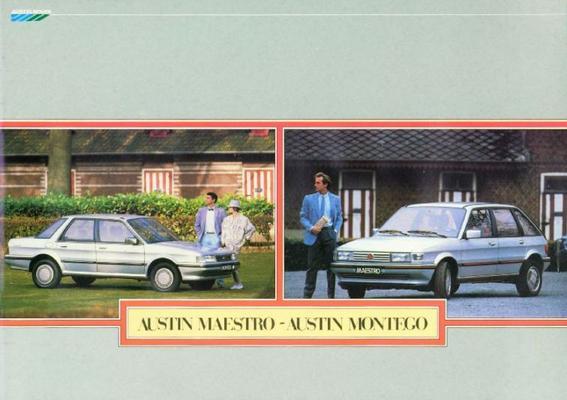 Austin Meastro/Montego brochure