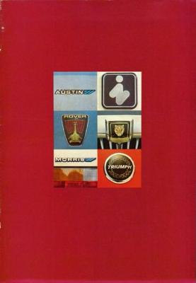 Brochure leveringsprogramma British Leyland 1981