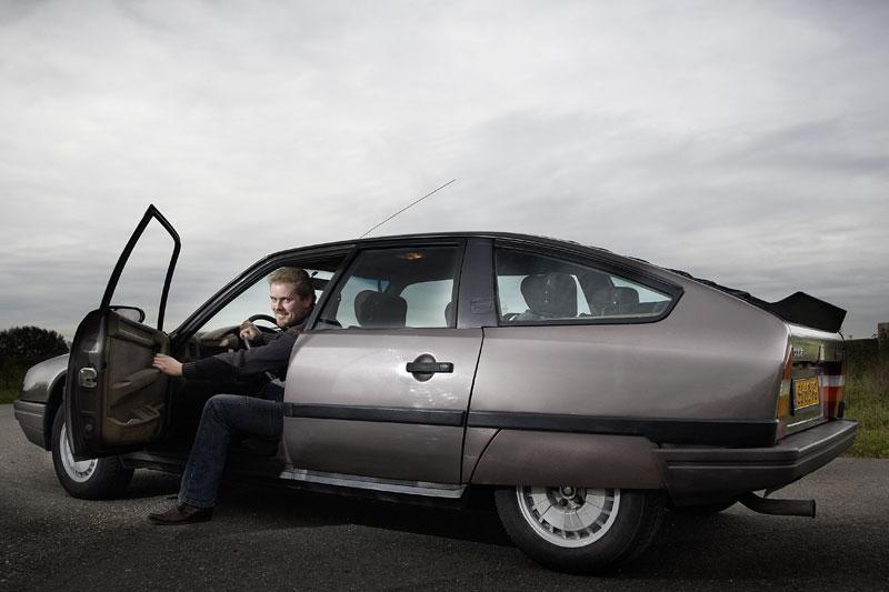 Klokje rond Citroën CX