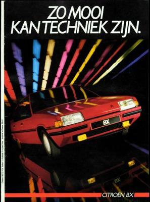 Brochure Citroën BX 1985