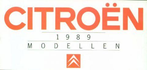 Brochure Citroën 1989