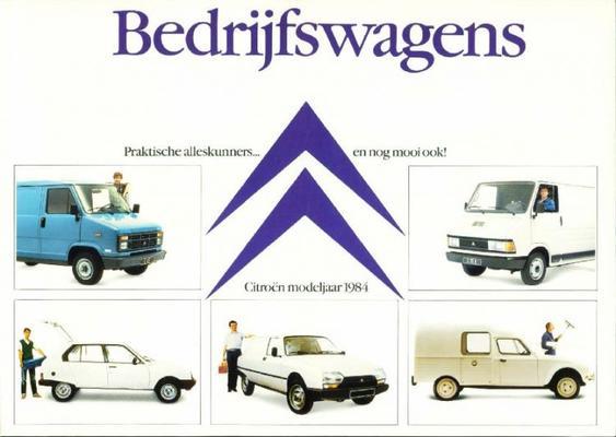 Citroën Bedrijfswagens 1984
