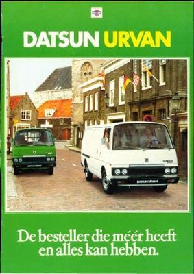 Datsun Urvan brochure