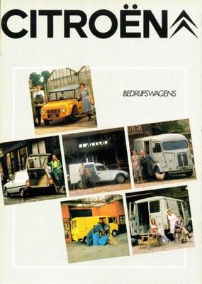 Citroën bedrijfswagens brochure 1980