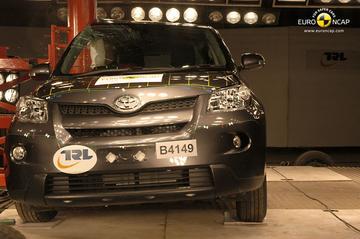 Euro NCAP: 3 sterren Toyota Urban Cruiser