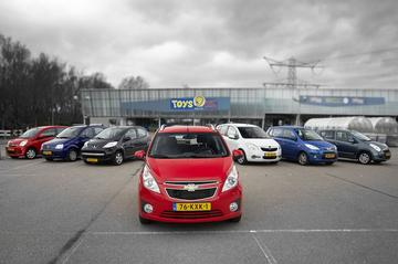 Chevrolet Spark - Daihatsu Cuore - Fiat Panda - Hyundai i10 - Opel Agila - Peuge