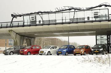 Fiat Panda - Kia Picanto - Suzuki Alto - Hyundai i10 - Renault Twingo - Dacia Sa