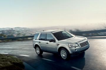 Land Rover Freelander dik in de spullen