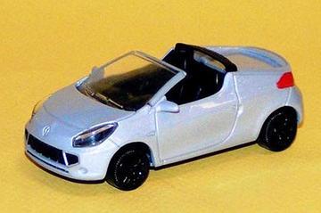 Renault Twingo cabrio in het klein