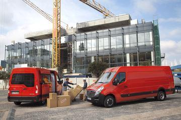 Opel Movano helemaal nieuw