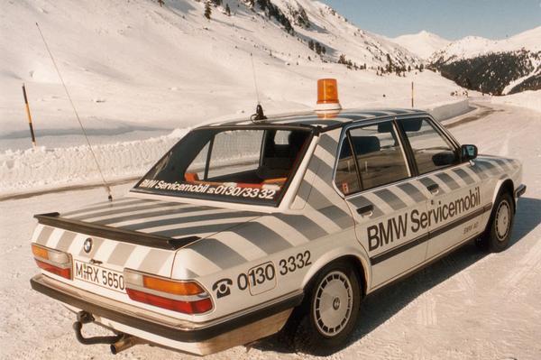 BMW 524td - 1983