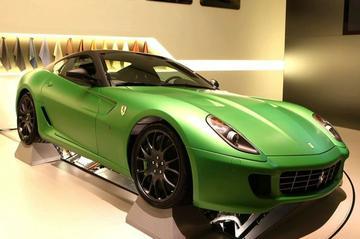 Ferrari 599 GTB Hybride alvast op internet