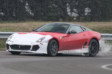 Ferrari 599 GTO: klassieker in de maak