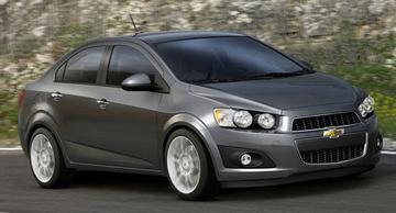 Nieuwe Chevrolet Aveo laat zich zien