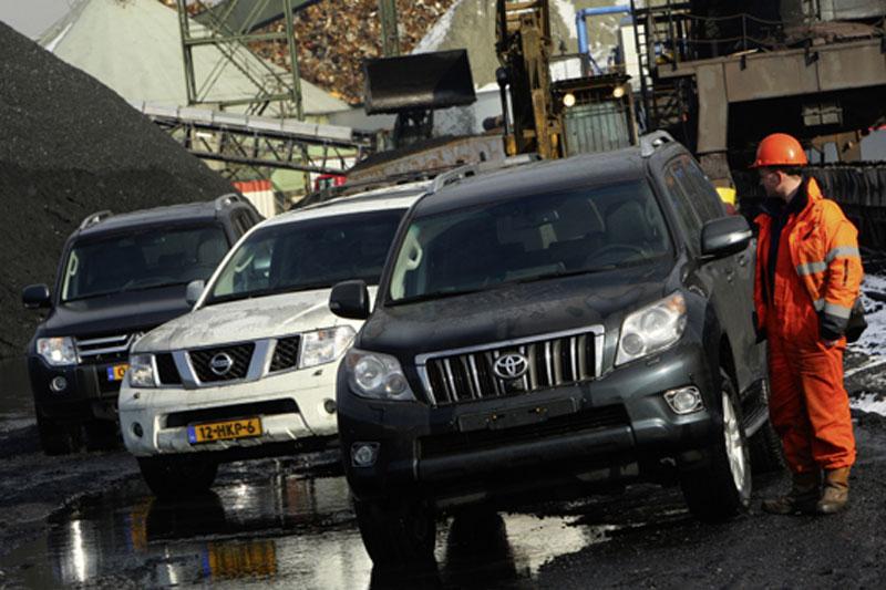Mitsubishi Pajero - Nissan Pathfinder - Toyota Land Cruiser