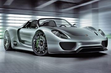 Officieel: Porsche 918 Spyder in productie