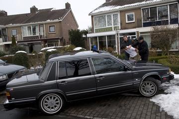 Ex-arrestatieteam Volvo 760
