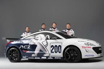 Peugeot RCZ wordt 24-uursracer