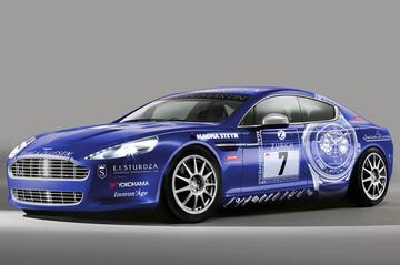 Aston Martin Rapide naar Nordschleife