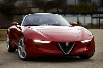Pininfarina bedenkt nieuwe Alfa Spider