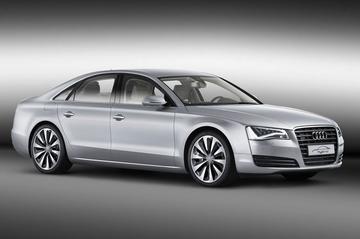 Audi A8 Hybrid te zien op de RAI